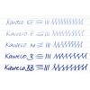 Kaweco Skyline replacement nib unit - macchiato