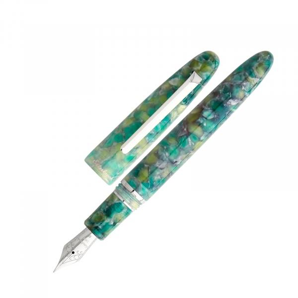 Esterbrook Estie - fountain pen Sea Glass Palladium Trim
