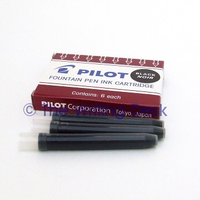 Pilot Ink Cartridges pk 6 black