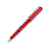 Lamy Safari 16 Fountain Pen Red