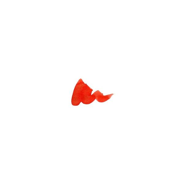 Diamine Shimmer Firefly (red/gold) sample