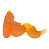 Diamine Shimmer Citrus Ice (orange/gold) sample