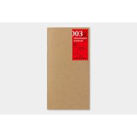 Traveler's Company Plain notebook 003