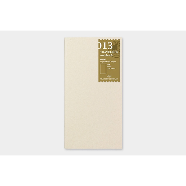 Traveler's Company Light paper notebook 013