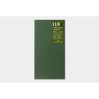 Traveler's Company Free diary weekly 018