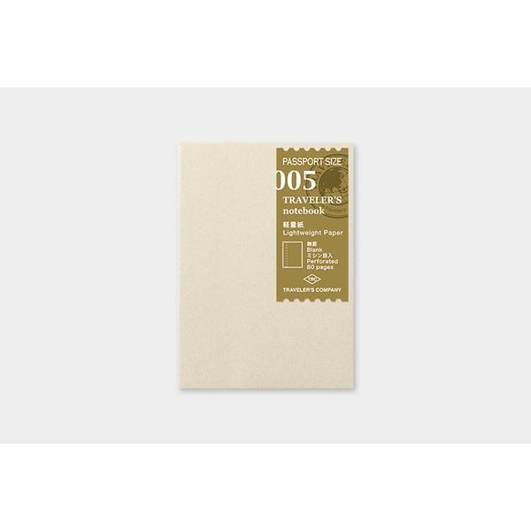 Traveler's Company Passport Lightweight Paper Notebook 005