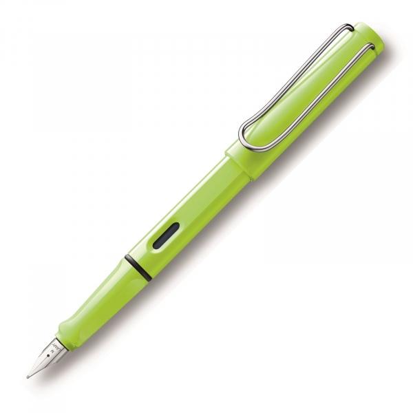 Lamy Safari 43 Fountain Pen Neon Lime - 2015 Special Edition