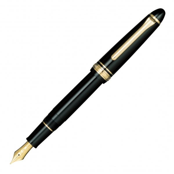 Sailor 1911s Black GT fountain pen 14k