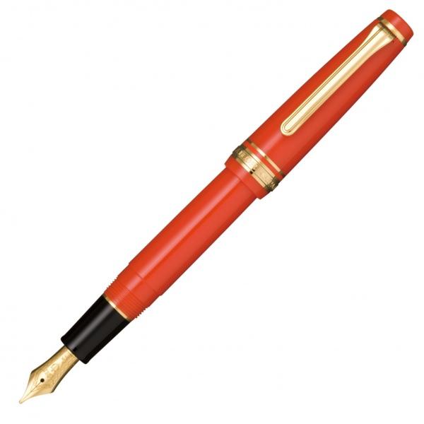 Sailor Sapporo Red Fountain Pen