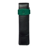 Pelikan case for 2 pens black/green TG22
