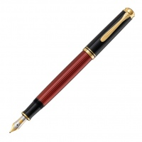 Pelikan Souverän M400 Fountain Pen black/red