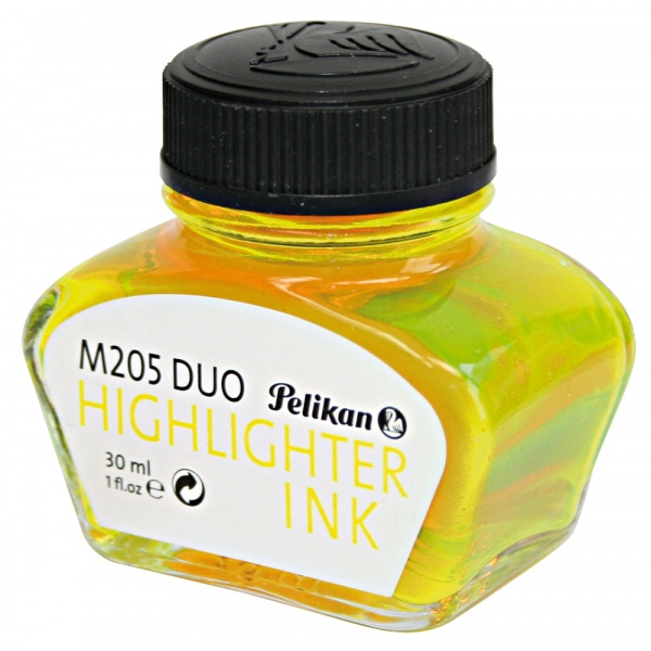 Pelikan M205 Duo highlighter ink