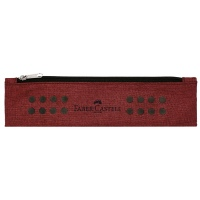 Faber Castell Grip pencil pouch marsala red