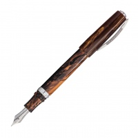 Visconti Medici Briar Fountain Pen