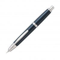 Pilot Capless Fountain Pen Graphite Blue