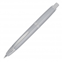 Pilot Capless Fountain Pen Rhodium Trim silver