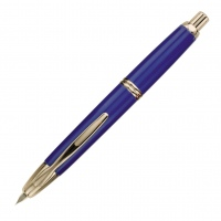 Pilot Capless Fountain Pen Gold trim Blue