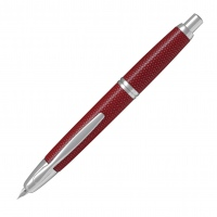 Pilot Capless Fountain Pen Graphite Red