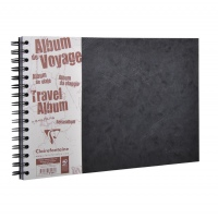 Clairefontaine Age Bag 781061 Travel Album - black