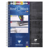 Clairefontaine Bind-o-Block lined