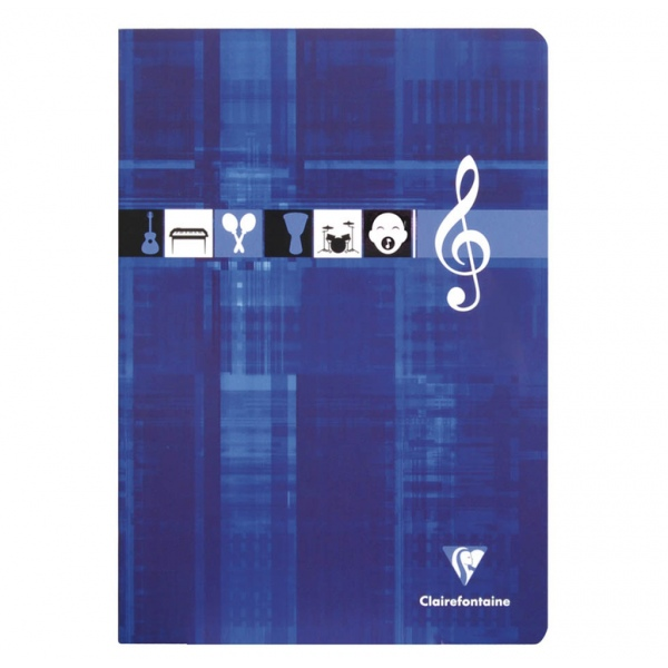 Clairefontaine Matris A4 soft-back music score