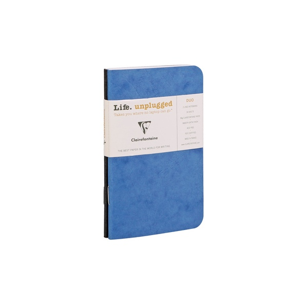 Clairefontaine Age Bag Duo 7.5x12cm lined