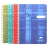 Clairefontaine 8540 A5 wire-bound plain