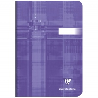 Clairefontaine Matris A5 softback stapled plain