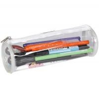 Clairefontaine Transparent pencil case round