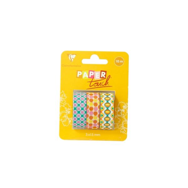 Decorativ tape 3x15mm Pop candy