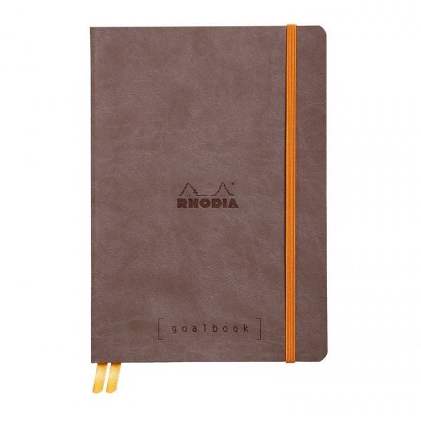 Rhodia Goalbook A5 Chocolate