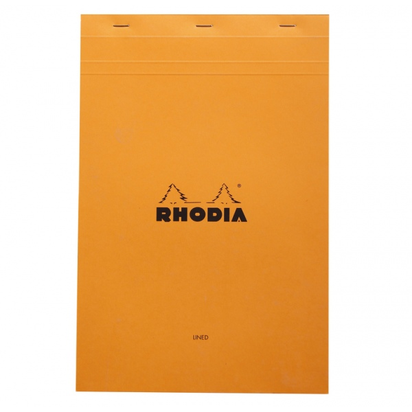 Rhodia Pad No. 19 A4+ pad lined & margin