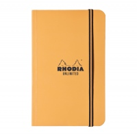 Rhodia Unlimited Pocket Notebook - Lined Orange