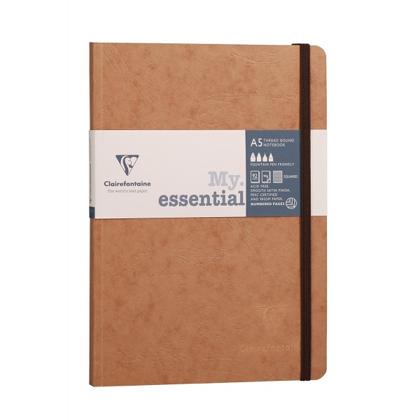 Clairefontaine Age Bag My Essential A5 - squared