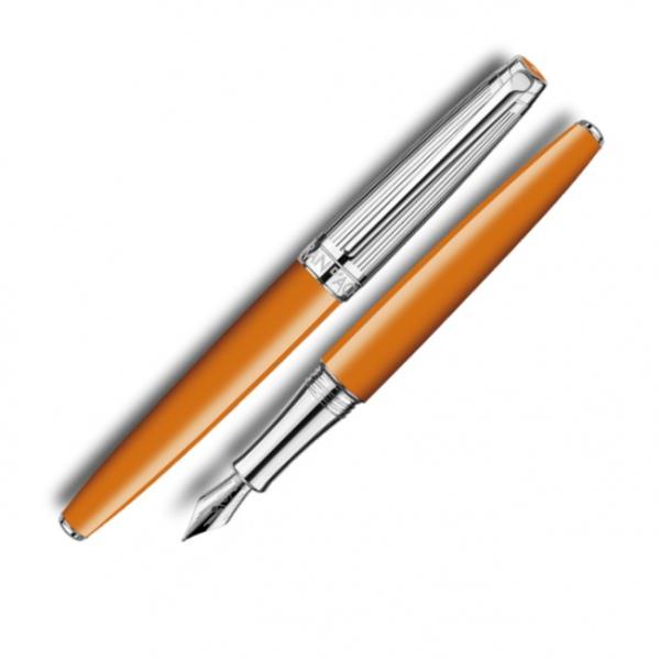 Caran d'Ache Leman bi-colour saffron