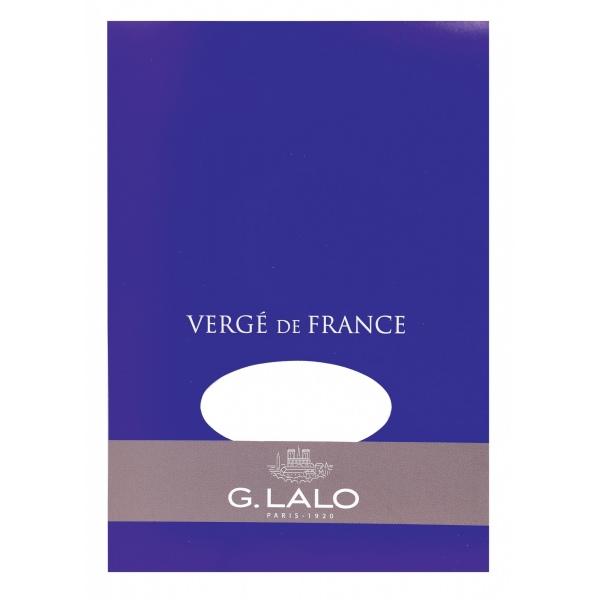 G Lalo Verge de France A5 writing pad