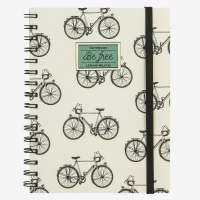Legami Notebook A5 Wirebound Bike