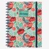 Legami Notebook A5 Wirebound Flower