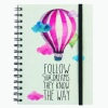Legami Notebook wirebound Follow Your Dreams (Balloon) A5