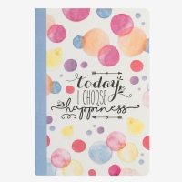 Legami Notebook Today I Choose Happiness A5