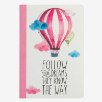 Legami Notebook Follow Your Dreams (Balloon) A5
