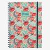 Legami Notebook A4 Wirebound Flower