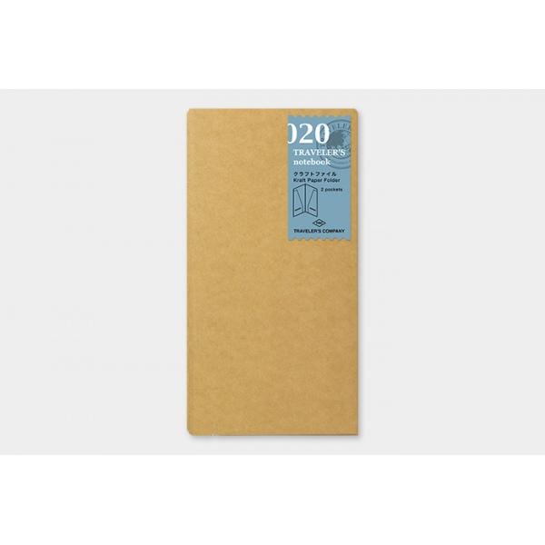 Travelers Company Kraft Paper Folder 020