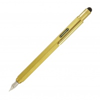 Monteverde Tool Fountain Pen brass