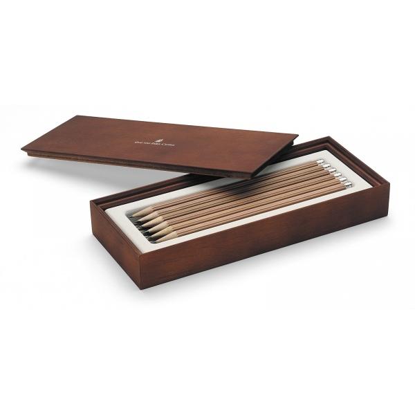 Graf von Faber Castell Pencil brown Gift Box 12 Pencils