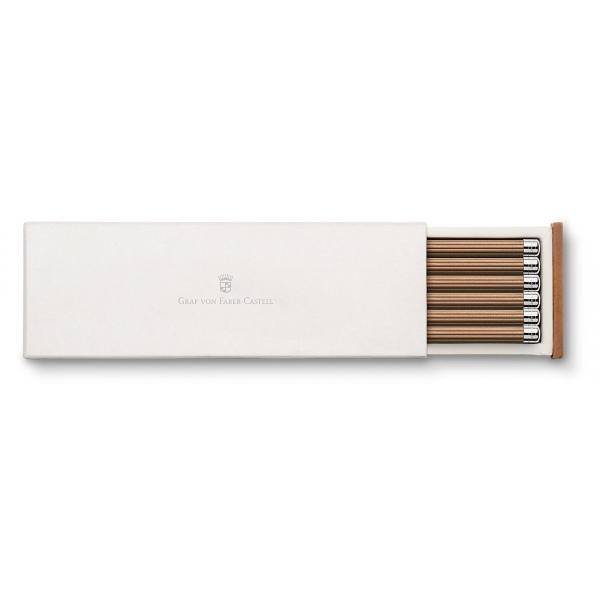 Graf von Faber Castell Pencil brown Gift Box 6 Pencils