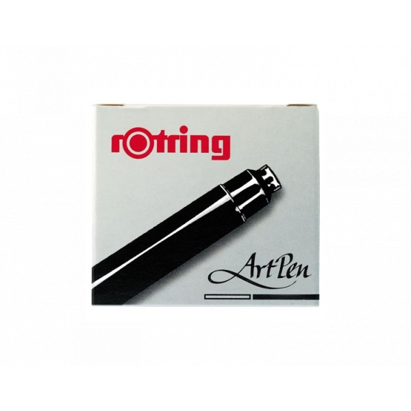 rotring Artpen Ink Cartridges black 6