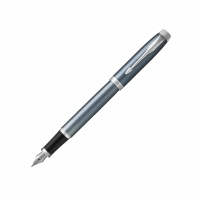 Parker IM Fountain Pen Blue Grey CT