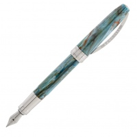 Visconti van Gogh Fountain Pen Portrait in Blue