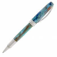 Visconti van Gogh Roller-Graphic Portrait in Blue